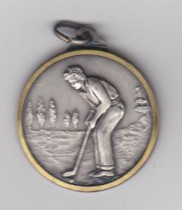 mini golf medal