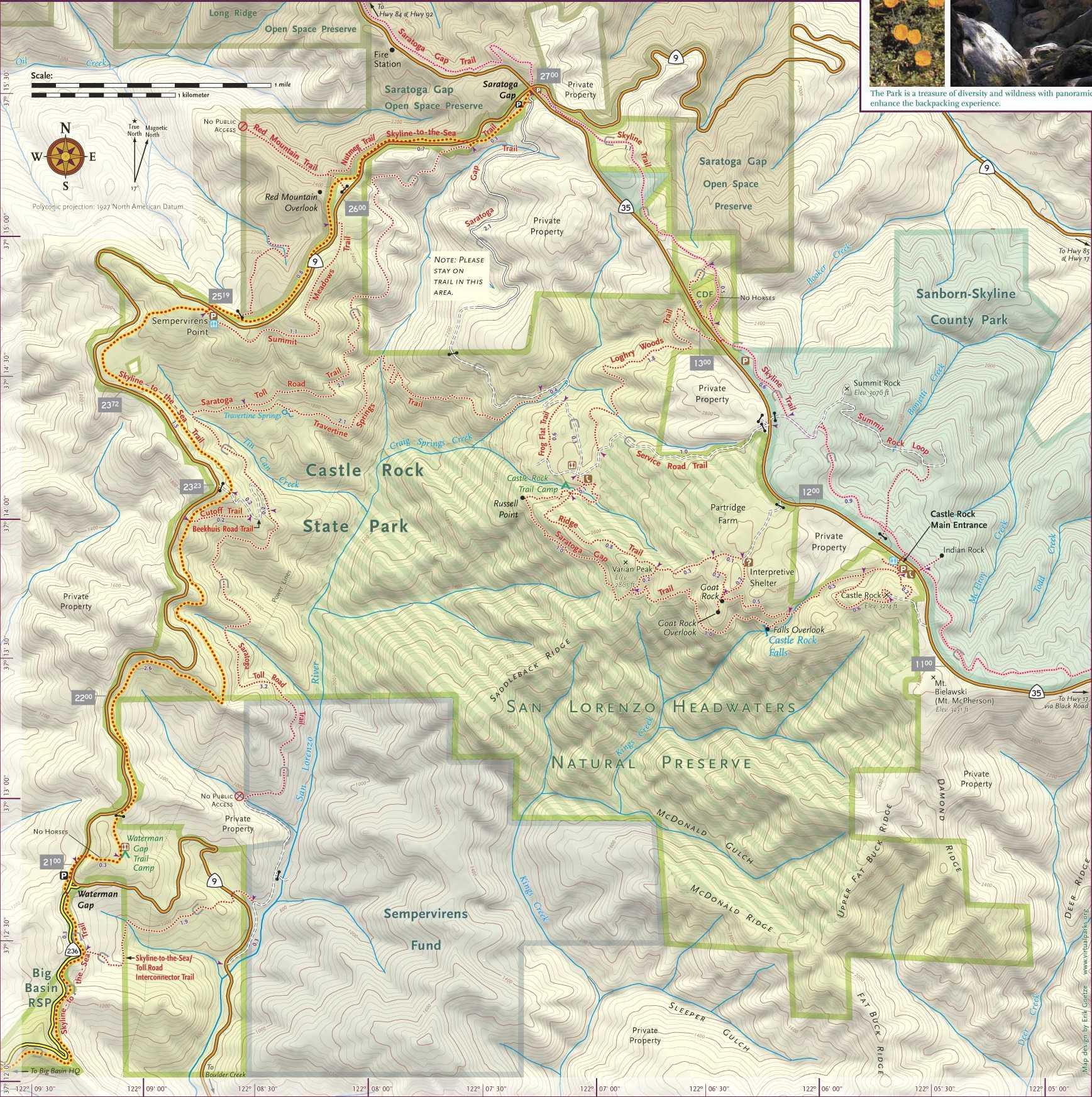 Santa Teresa California Map.Expertgps Calibrated Maps